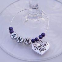 Special Nan Wine Glass Charms